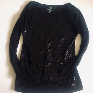 Old Navy soft sequins long-sleeve